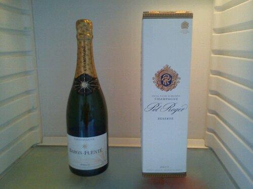 Lägg champagnen på kylning!