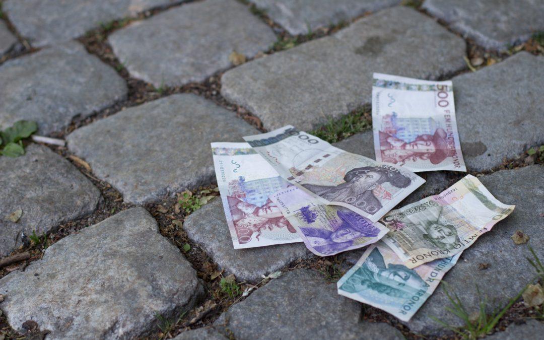 Hittade pengar! Attraktionslagen?