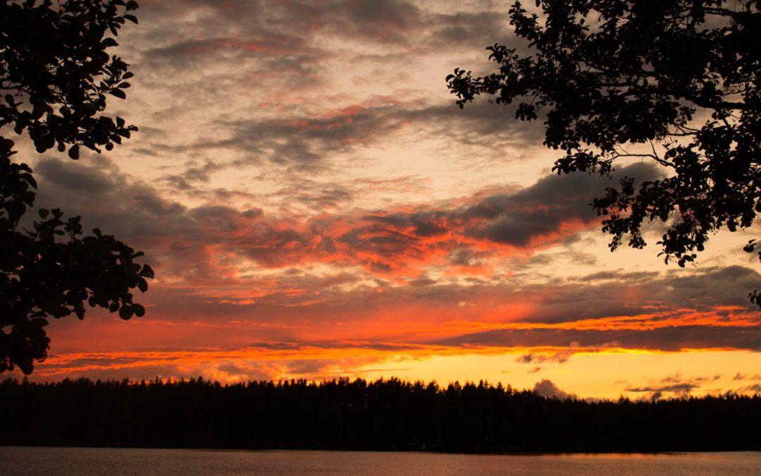 Högkänsliga njuter intensivare av solnedgång