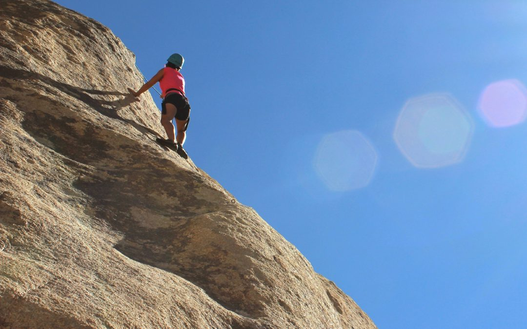 Högkänsliga barn överväger om det är säkert innan de klättrar högt