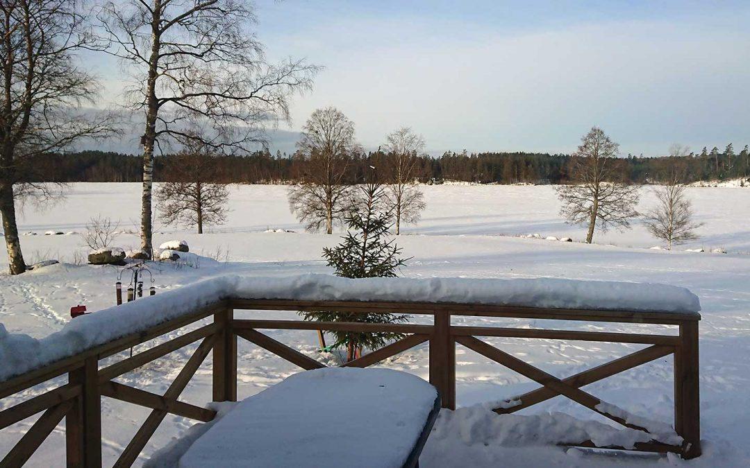 Att se på snön och bara vara ger frid i sinnet för HSP