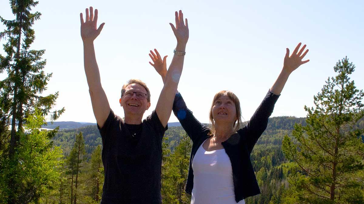 Mental träning och meditationer har hjälpt Leif och Anneli att upptäcka fördelarna med att vara högkänslig.