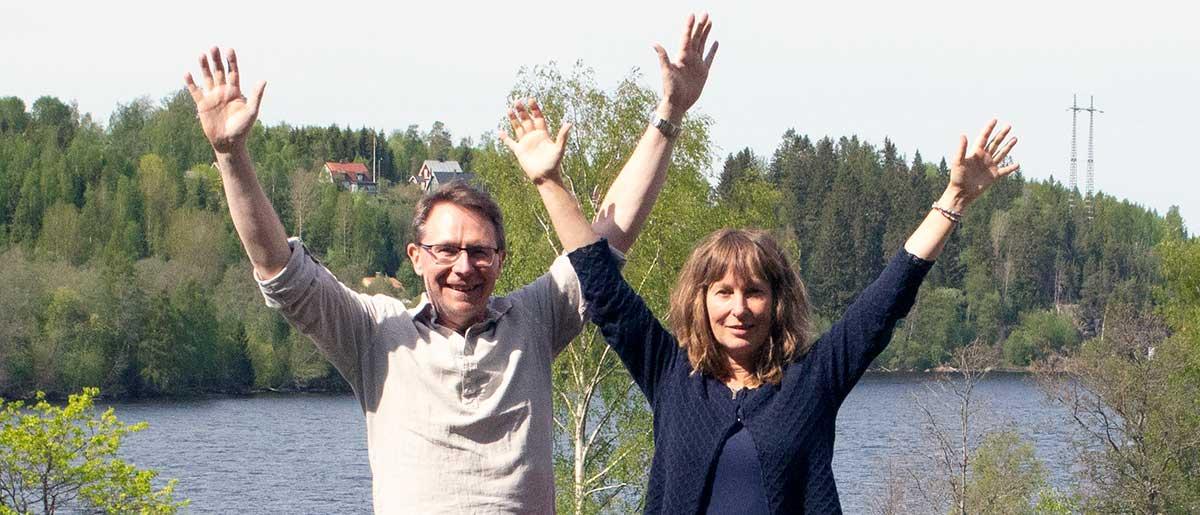 Leif och Anneli är högkänsliga. Meditation och mental träning ger dem mer balans i livet. Det ger också en känsla av att duga som vi är.