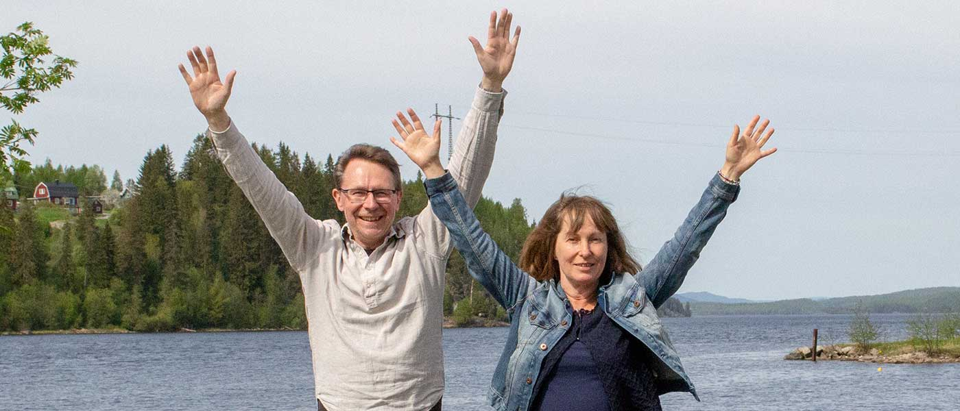 Du får mer energi och bättre självkänsla. Leif och Anneli är båda högkänsliga och hjälper dig på din resa.