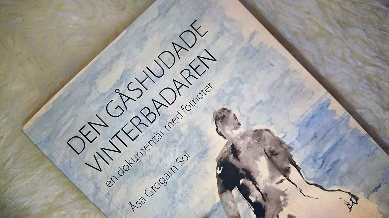 Den gåshudade vinterbadaren av Åsa Grogarn Sol