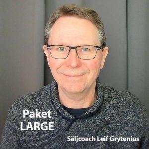 Säljcoaching Large med Leif Grytenius