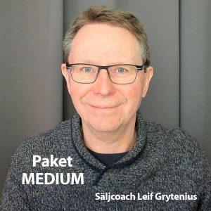 Säljcoaching Medium med Leif Grytenius