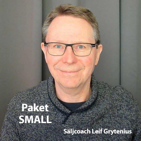 Säljcoaching Small med Leif Grytenius