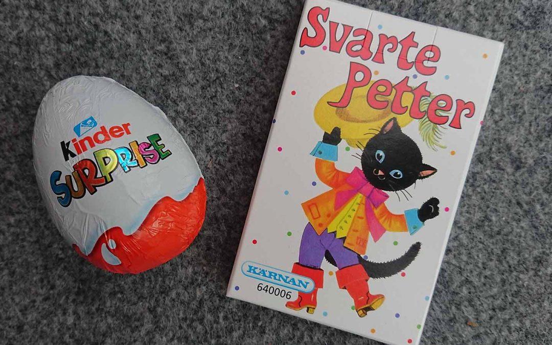 HSP en blandning av Kinderägg och Svarte Petter